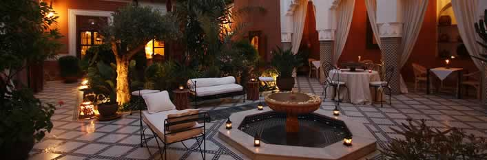 Riad Medina Agdid-Patio Marrakech